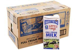 Sữa tươi Úc Harvey Fresh