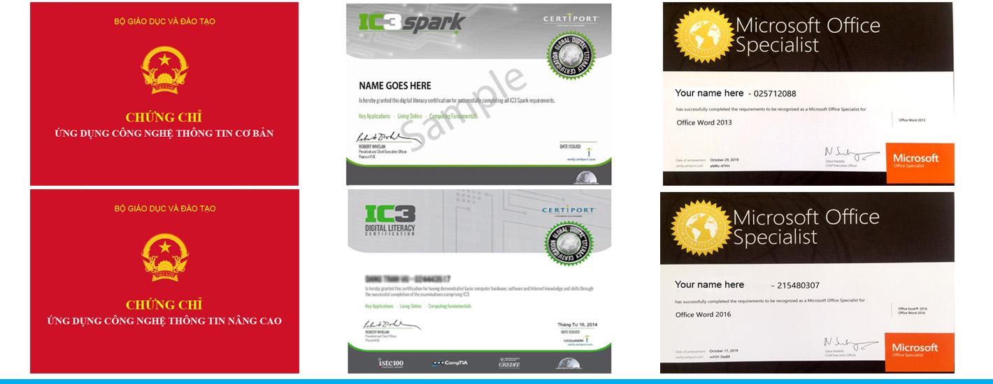 Tin học quốc tế IC3 Spark